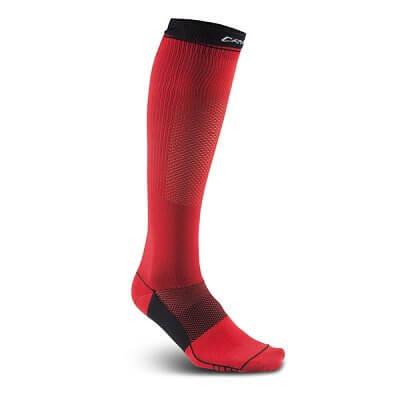 Ponožky Craft Podkolenky Body Control červená