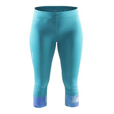 Kalhoty Craft W Kalhoty Devotion Capri zelená