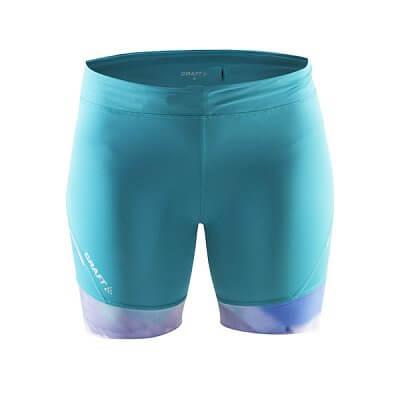 Kraťasy Craft W Kalhoty Devotion Fitness potisk zelená