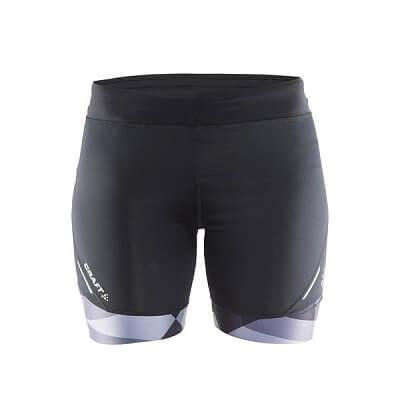 Kraťasy Craft W Kalhoty Devotion Fitness potisk černá