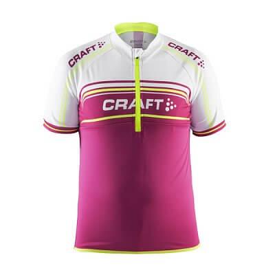 Trička Craft Cyklodres Logo růžová