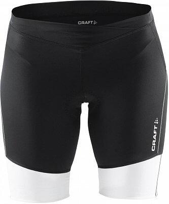 Kraťasy Craft W Cyklokalhoty Velo Shorts černá s bílou