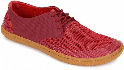 Pánská vycházková obuv Vivobarefoot Ra Lite M Mesh Red