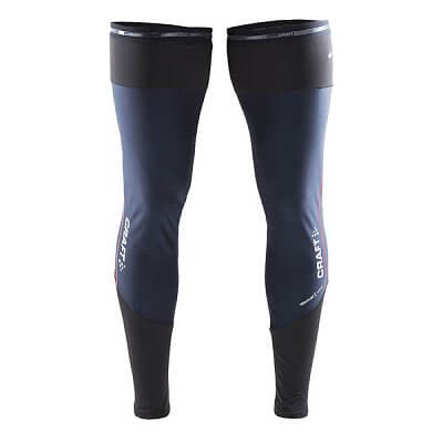 Kompresní návleky Craft Návleky Weather Leg Warmer černá