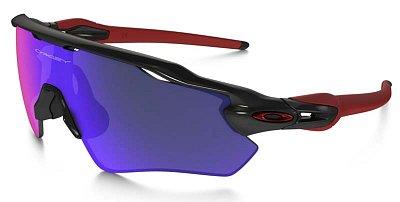 Sluneční brýle Oakley Radar EV Polished Black w/Positive Red