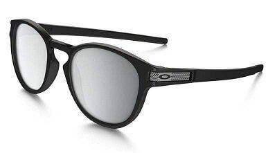 Sluneční brýle Oakley Latch Machinist Matte Blk w/Chrome Irid