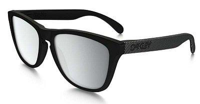 Sluneční brýle Oakley Frogskins Machinist Matte Blk w/Chrome Irid