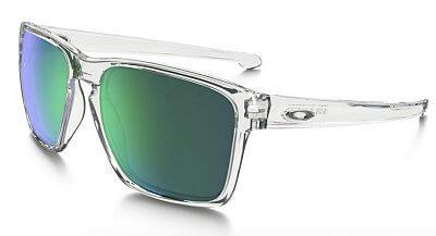 Sluneční brýle Oakley Sliver XL Polished Clear w/Jade Iridium