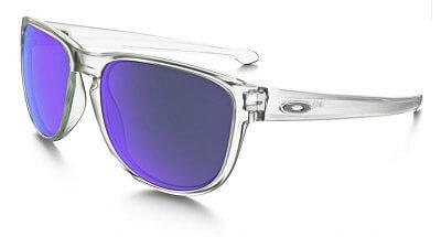 Sluneční brýle Oakley Sliver R Matte Clear w/Violet Irid