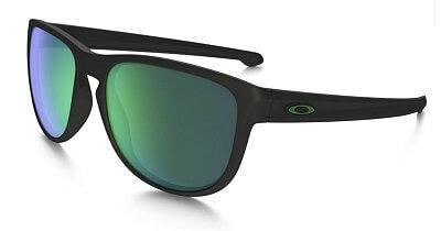 Sluneční brýle Oakley Sliver R Matte Black w/Jade Iridium