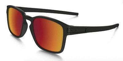 Sluneční brýle Oakley Latch SQ Matte Black w/Torch Iridium