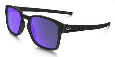Sluneční brýle Oakley Latch SQ Matte Black w/Violet Irid Pol