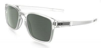 Sluneční brýle Oakley Latch SQ Matte Clear w/Dark Grey