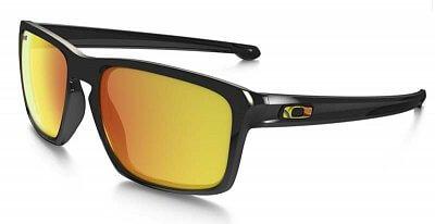 Sluneční brýle Oakley Sliver VR46 Polished Black w/Fire Irid