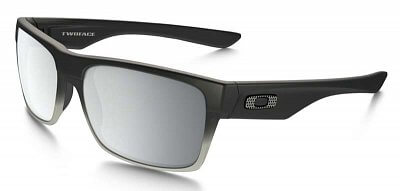 Oakley Two Face Machinist Matte Blk w/Chrome Irid