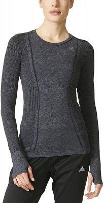 Dámské běžecké tričko adidas adistar Wool Primeknit LS T w