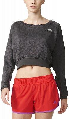 Dámské běžecké tričko adidas Aktiv Cozy Pullover w