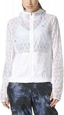 Dámská běžecká bunda adidas Run Transparent Jacket