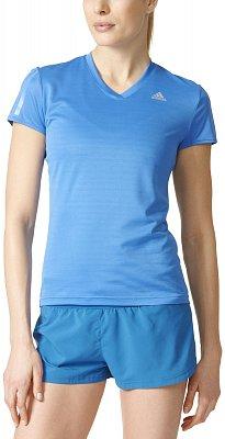 Dámské běžecké tričko adidas Response Short Sleeve Tee w