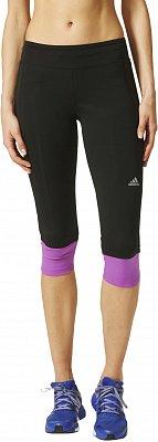 Dámské běžecké kalhoty adidas Response 3/4 Tights w