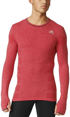 Pánské běžecké tričko adidas adistar Wool Primeknit LS Tee