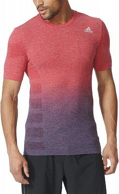 Pánské běžecké tričko adidas Primeknit Wool Dip Dye Tee m