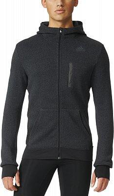 Pánská běžecká mikina adidas Ultra Energy Fleece Jacket m