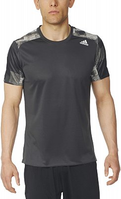Pánské běžecké tričko adidas Response Graphic Tee m
