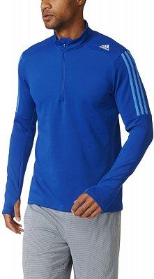 Pánské běžecké tričko adidas Response 1/2 Zip Long Sleeve Tee m