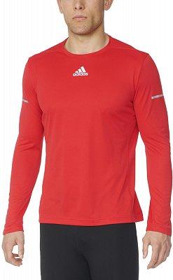 Pánské běžecké tričko adidas Sequencials Climalite Run LS T m