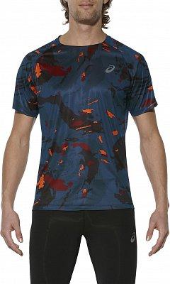 Pánské běžecké tričko Asics Fujitrail Graphic SS
