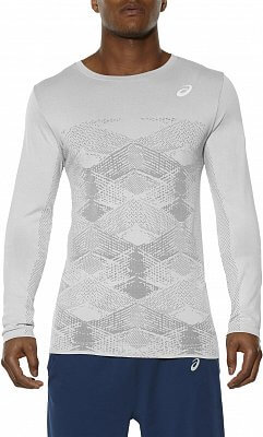 Pánské běžecké tričko Asics Seamless LS Crew