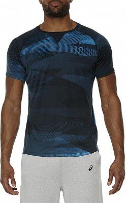 Pánské sportovní tričko Asics Short Sleeve Print Top