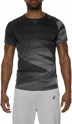 Asics Short Sleeve Print Top