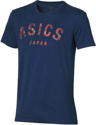 Pánské sportovní tričko Asics Camou Logo SS Top