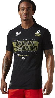 Pánské fitness tričko Reebok CrossFit Burnout Tee