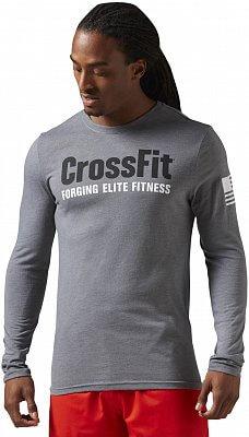 Pánské fitness tričko Reebok CrossFit Forging Elite Fitness LS Tee