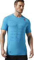 Reebok CrossFit Burnout Tee Solid