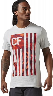Reebok CrossFit Camo Flag Pocket Tee