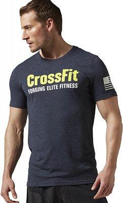 Pánské fitness tričko Reebok CrossFit Forging Elite Fitness Tee