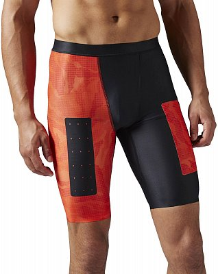 Pánské fitness kraťasy Reebok CrossFit Compression Short AOP