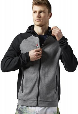 Pánská fitness mikina Reebok One Series Quik Cotton Hooded Sweatshirt