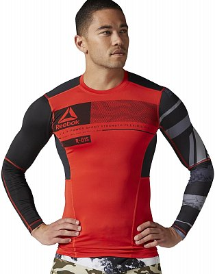 Pánské fitness tričko Reebok One Series ACTIVChill LS Compression Top