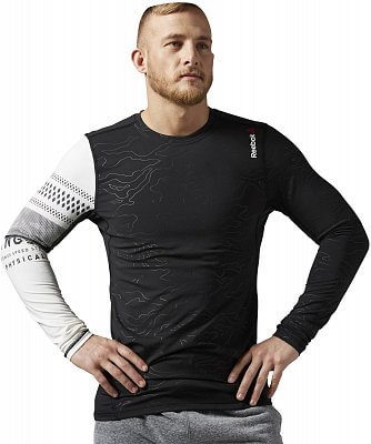 Pánské fitness tričko Reebok One Series SpeedWick Thermal LS Compression