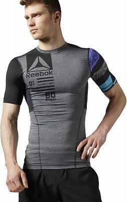 Pánské fitness tričko Reebok One Series ACTIVChill SS Compression Top