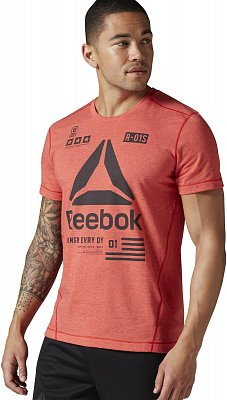 Pánské fitness tričko Reebok One Series SpeedWick Performance Delta Top