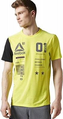 Pánské fitness tričko Reebok One Series ACTIVChill Breeze Top