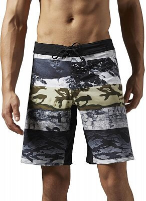 Pánské fitness kraťasy Reebok One Series Winter Camo Sublimated Short