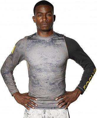 Pánské fitness tričko Reebok RNF LS Compression Top
