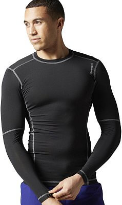 Pánské fitness tričko Reebok WorkOut Ready Compression Long Sleeve